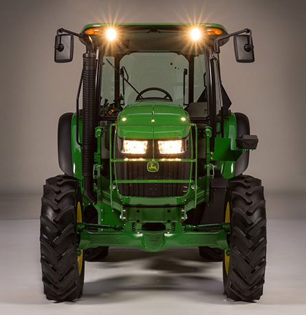 tractor-led