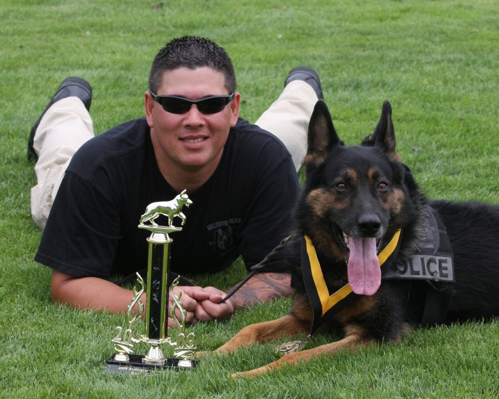 Handler and his K9