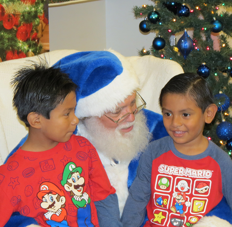 The Blue Santa Project